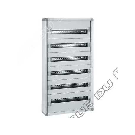 legrand 401805 coffret distribution isolant xl3 160 - tout modulaire - 5 rangees - 120 modules