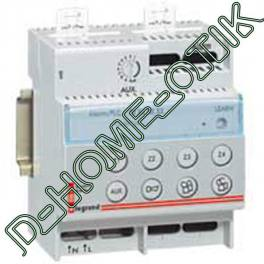 interface lexic - pour alarme intrusion celiane - in one by legrand - 4 mod ref 3607