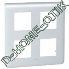 plaque programme mosaic - 2x2x2 modules - alu ref 79038