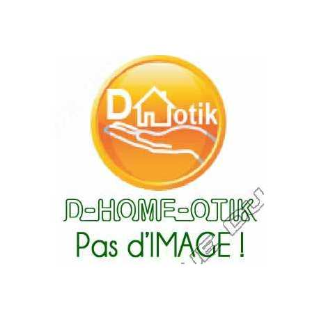 enjoliveur celiane - poste interieur video avec memoire d image - titane - myhome ref. 68506