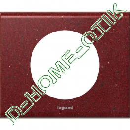 plaque celiane - 1 poste - corian pompeii red ref 69181