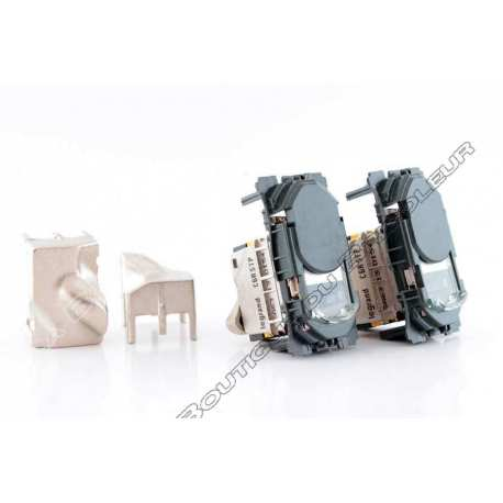 double prise rj45 celiane - categorie 6a - stp - blindage metal - lcs2 ref 67346