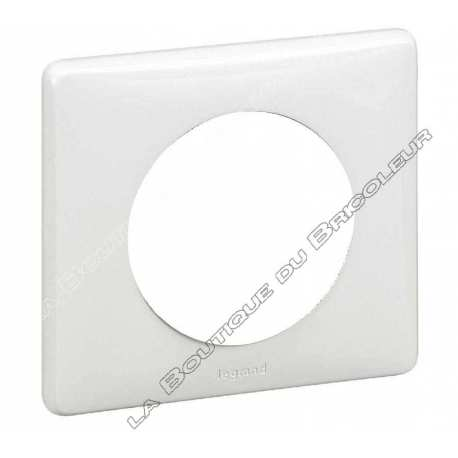 plaque celiane - neutre - 1 poste - blanc ref 68631