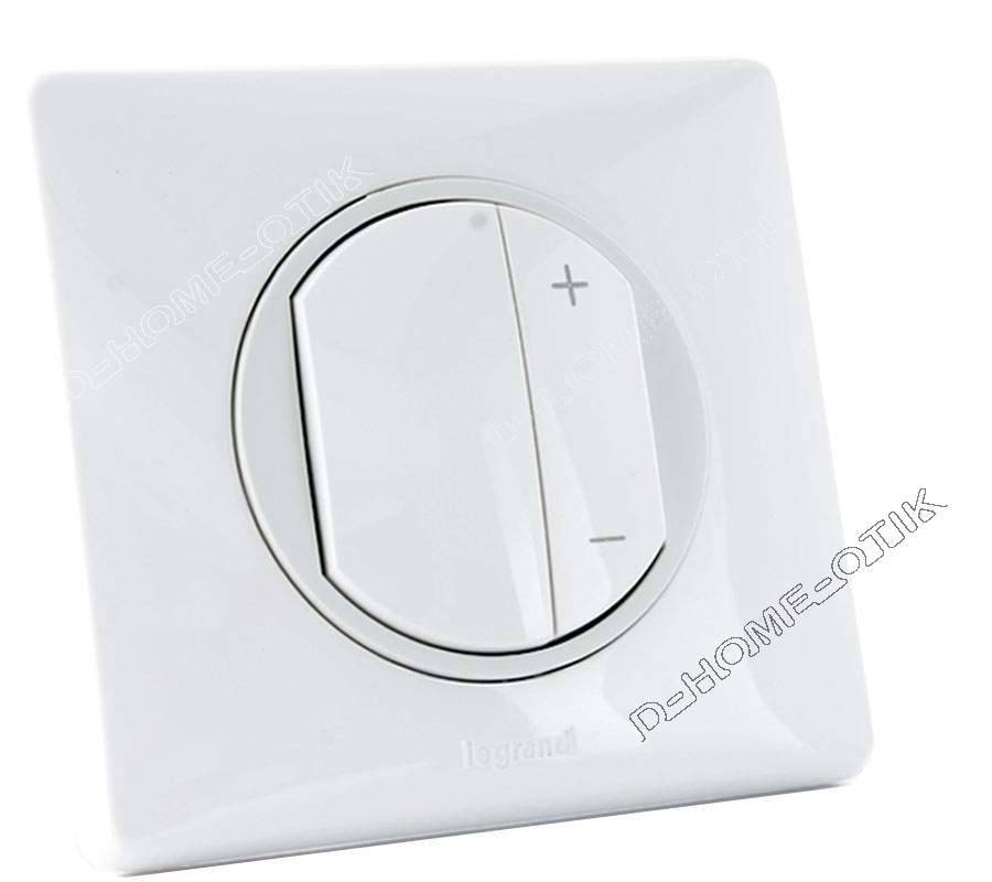 eco variateur led celiane ss neutre enjo blanc plaque blanc. Black Bedroom Furniture Sets. Home Design Ideas