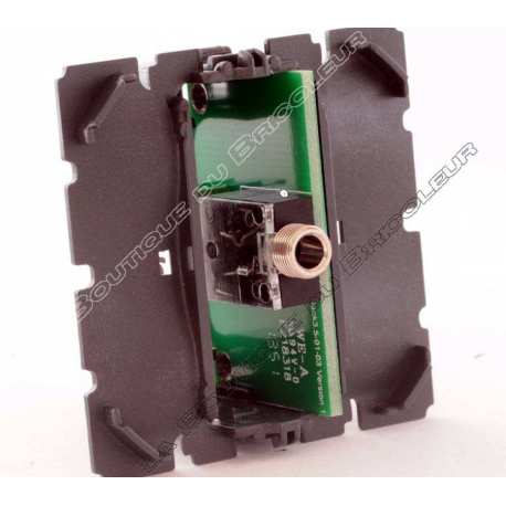 Prise audio jack 3,5 mm Celiane ref 67318