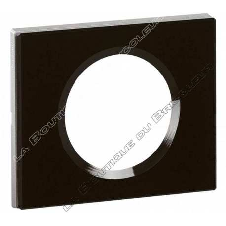 Plaque Celiane 1 poste Verre Piano ref 69301
