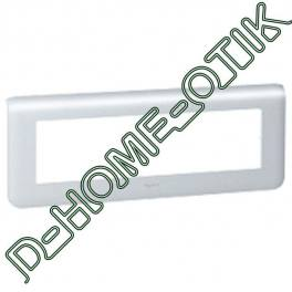 plaque programme mosaic - 8 modules horizontal - alu ref 79018