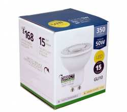ampoule LED NON dimmable GU10 5 watts 2700K 350lm