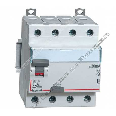 Inter diff  Type A 63Amp 4 poles