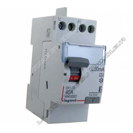 Inter Diff type A 40Amp a vis