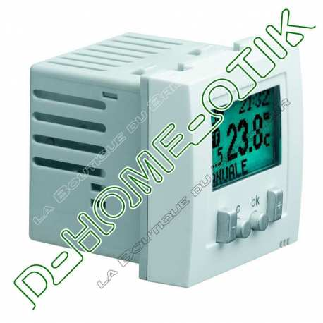 hager ws311 systo 2m thermostat d ambiance electronique programmable