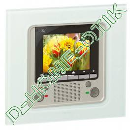 poste interieur video celiane bus scs - a encastrer - pour portier video celiane - myhome ref 67546