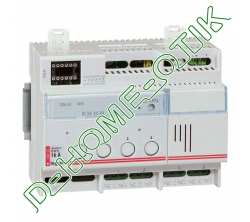 contoleur eclair modul-eco bus scs gestion eclairage- on off-6 mod-4 sorties - myhome ref 2602